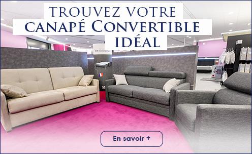 Trouvez canapé convertible à votre salon!